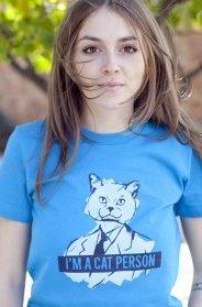 im a cat person t shirt I'm a Cat Person T Shirt