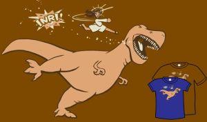 jesus vs dinosuar t shirt Funny Dinosaur T Shirts Bring Fear and Laughter