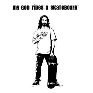 my god skateboard jesus My God Designs: Cool Jesus Wants to Save Your Soul