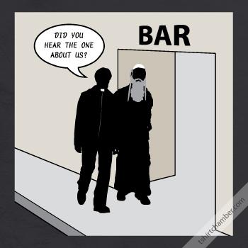 priest rabbi bar Enter the T Shirt Chamber