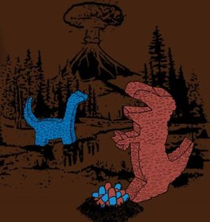 spongesaurus t shirt Funny Dinosaur T Shirts Bring Fear and Laughter