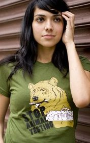 stop animal testing t shirt Stop Animal Testing T Shirt