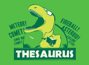 thesaurus t shirt Funny Dinosaur T Shirts Bring Fear and Laughter