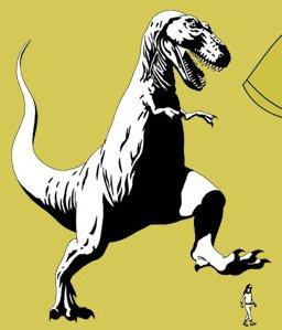 trex stompin t shirt Funny Dinosaur T Shirts Bring Fear and Laughter