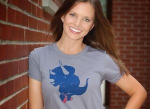 triceratops on a trike t shirt Funny Dinosaur T Shirts Bring Fear and Laughter