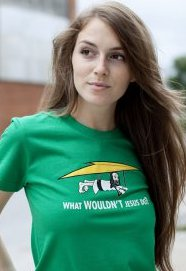 what wouldnt jesus do t shirt Hang Gliding What Wouldnt Jesus Do T shirt