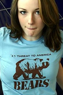 bears number one threat to america t shirt Bears Number One Threat to America T Shirt