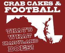 crab cakes football thats what maryland does t shirt Wedding Crashers Crab Cakes and Football Thats What Maryland Does T Shirt