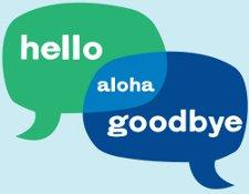 hello aloha goodbye t shirt Venn Diagram Hello Aloha Goodbye T Shirt