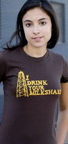 i drink your milkshake t shirt There Will Be Blood I Drink Your Milkshake T Shirt