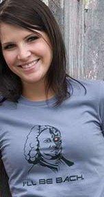 ill be bach t shirt The Terminator: Ill Be Bach T Shirt