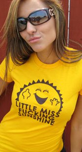 little miss fucking sunshine t shirt Little Miss Fucking Sunshine T Shirt