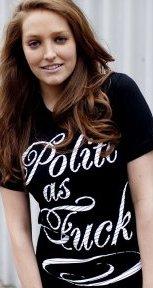 polite as fuck t shirt Polite as Fuck T Shirt