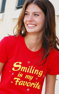 smiling is my favorite t shirt Smiling is My Favorite T Shirt