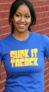 suck it trebek t shirt SNL Suck It Trebek T Shirt