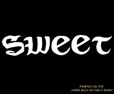 sweet tattoo t shirt Dude Wheres My Car Tattoo Sweet T Shirt