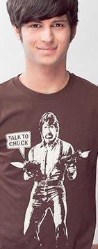 talk to chuck t shirt Chuck Norris Talk to Chuck  T Shirt