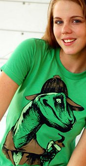velociholmes t shirt Velociholmes T Shirt