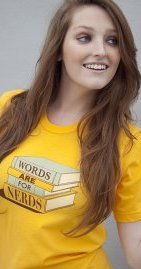 words are for nerds t shirt Words Are For Nerds T Shirt