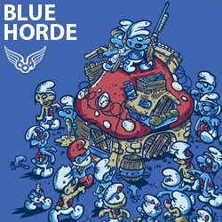 blue horde t shirt Shop Review: 604 Republic Does It Gamer Style