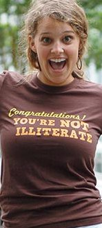 congratulations youre not illiterate t shirt Congratulations Youre Not Illiterate T Shirt