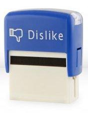 facebook dislike stamp t shirt Facebook Like Dislike Stamps