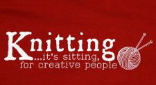 knitting its sitting for creative people t shirt Sheldon Knitting Its Sitting for Creative People T Shirt