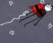 rocket escape t shirt Exploding Dog Escape T Shirt