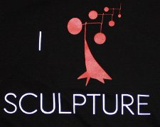 sculpture t shirt Chris Yates Sculpture T Shirt