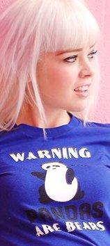 warning pandas are bears t shirt Warning: Pandas Are Bears T Shirt