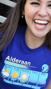 alderaan forecast t shirt Star Wars, Hip Hop, and Breaking Bad Top the Tshirt Groove Charts This Week