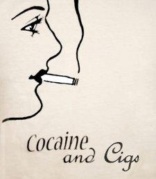 cocaine and cigs t shirt Cocaine and Cigs T Shirt