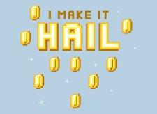 i make it hail t shirt Super Mario Brothers I Make It Hail T Shirt