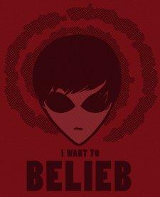 i want to belieb t shirt Justin Beiber X Files Alien I Wanna Belieb T Shirt