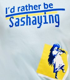 id rather be sashaying t shirt Id Rather Be Sashaying T Shirt