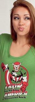 latin america t shirt Captain America Lucha Libre Latin America T Shirt