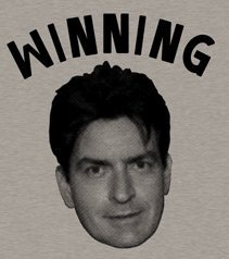 winning charlie sheen t shirt Winning Charlie Sheen T Shirt