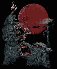 3 werewolves t shirt 3 Werewolves T Shirt