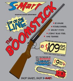 boomstick t shirt Army of Darkness The Boomstick T Shirt