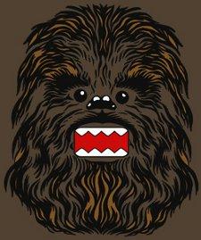 chewie kun t shirt Domo Kun Star Wars Chewbacca Chewie Kun T Shirt