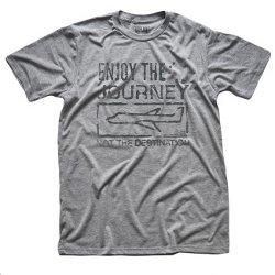 enjoy the journey not the destination t shirt Solid Threads: Enjoy the Journey Not the Destination T Shirt