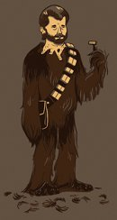georges secret t shirt Star Wars Wookie Georges Secret T Shirt