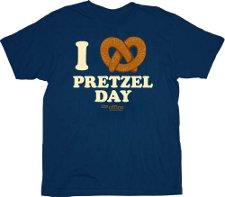 i love pretzel day t shirt The Office I Love Pretzel Day T Shirt