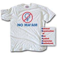 no maam t shirt Married With Children No Maam T Shirt