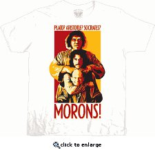 plato aristotle socrates morons t shirt The Princess Bride Plato? Aristotle? Socrates? Morons T Shirt