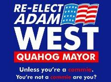 re elect adam west quahog mayor t shirt Family Guy Re elect Adam West for Quahog Mayor T Shirt
