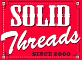 solid threads logo Solid Threads: Enjoy the Journey Not the Destination T Shirt