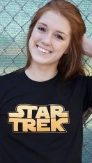 star trek t shirt Star Wars Trek Wars Star Trek T Shirt