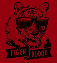 tiger blood t shirt Charlie Sheen Tiger Blood T Shirt