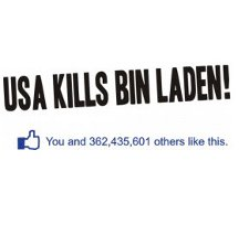 USA kills bin laden t shirt1 Facebook USA Kills Bin Laden T Shirt